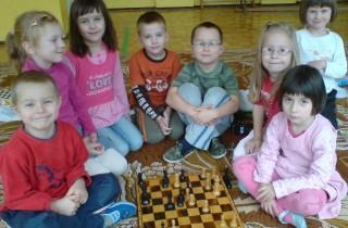 przedszkolaki drużyna szachowa
